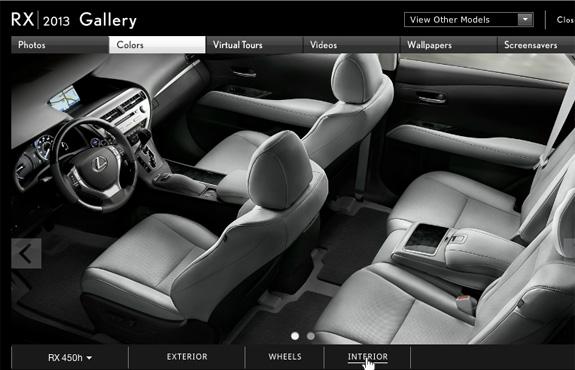 Build A New 2013 Lexus RX Peterson Lexus Blog