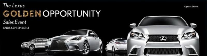 2013 Golden Opportunity Banner