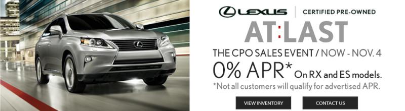 Lexus CPO