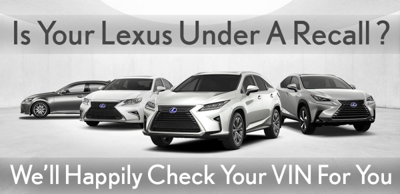 Lexus Recall