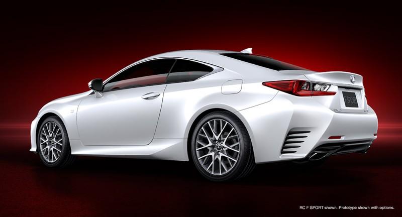 The Lexus RC F