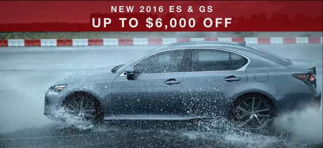 $6,000 off ES and GS